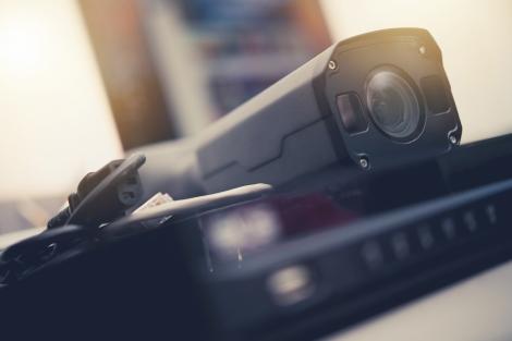 Close up shot of DVR system